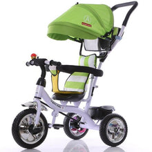 Load image into Gallery viewer, children tricycle and stroller
