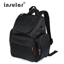 Load image into Gallery viewer, Insular Elegant Baby Diaper Backpacks Bags Nappy Stroller Bags Multifunctional Maternity Changing Bags For Mommy Women Backpacks