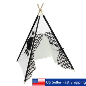 Indian Play Tent Teepee Children Playhouse