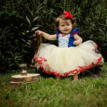 Load image into Gallery viewer, Newborn Baby ChristmasDress For Girl First Birthday One Dress Infant Party Baby Dresses For Baptism Bebes 9 12 18 24 Months