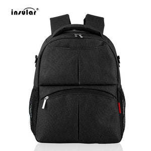 INSULAR Mummy Diaper Backpack Fashionable Large Capacity Mother Bag Multifunctional Travel Baby Backpack bag Nappy Bags