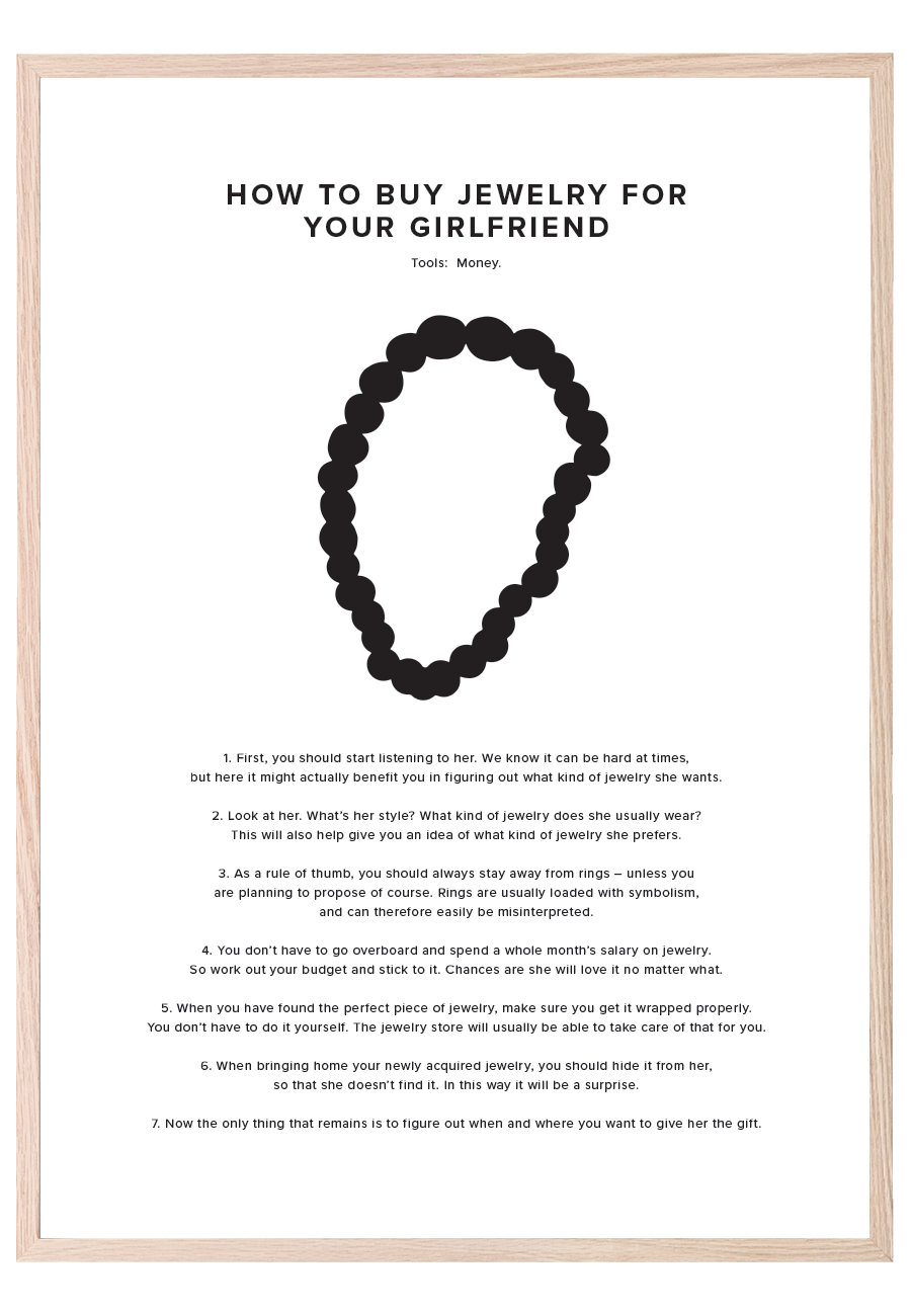 HOW TO BUY JEWELRY FOR YOUR GIRLFRIEND