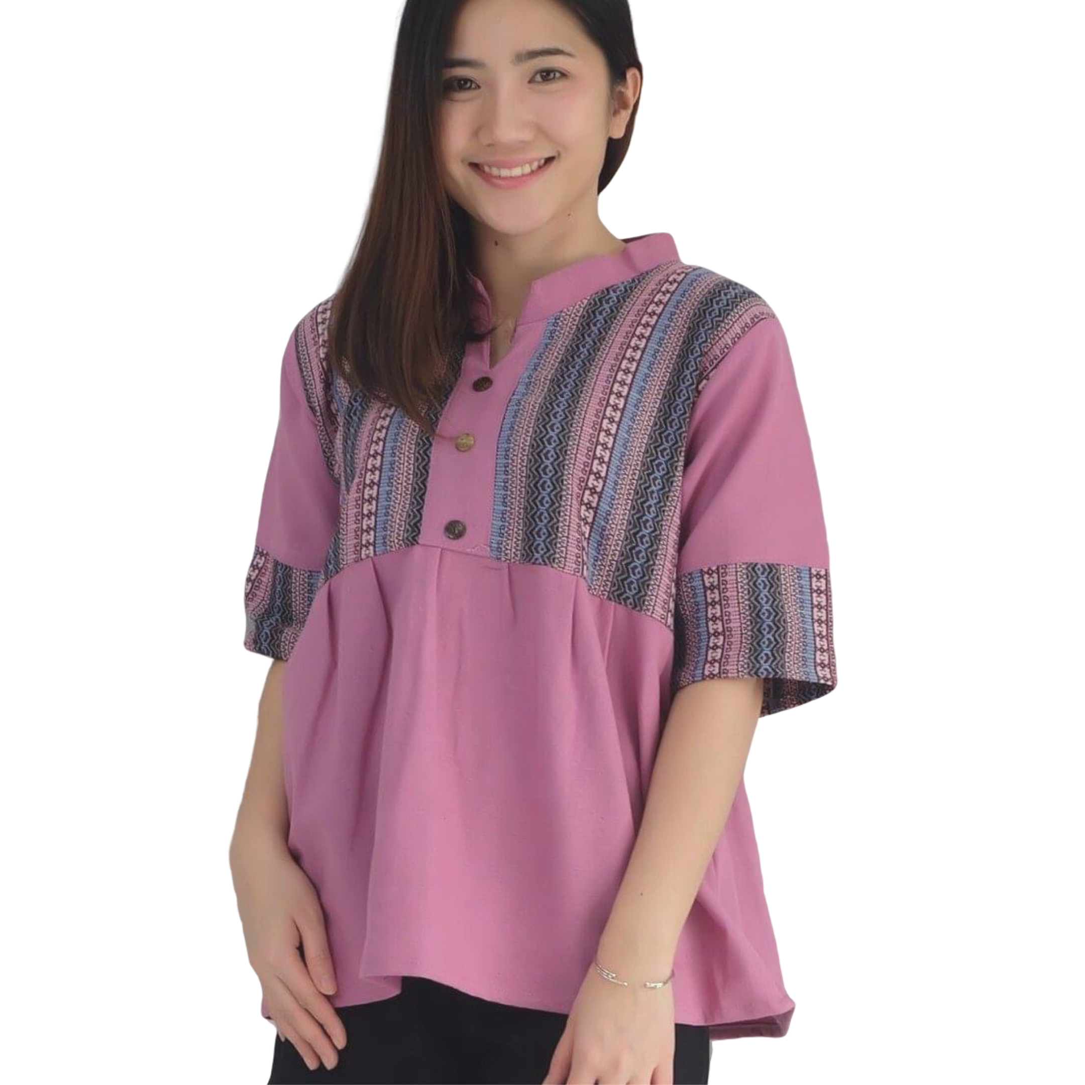 Embroidered Northern Thailand Village Blouse