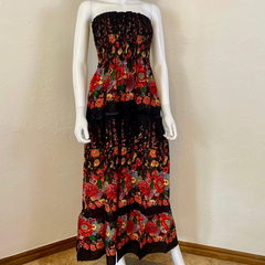 Boho Maxi Gypsy Rayon Sundress