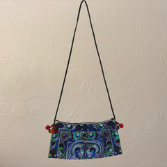 Thai Hmong Embroidered Handbag