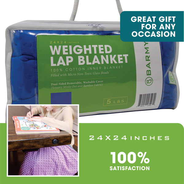 Weighted Lap Blanket for Kids - Barmy.biz