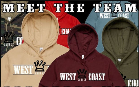 WESTCOAST COLORED HOODIES - STREET