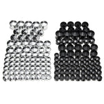 76 Pcs Screw Bolt Covers For Harley Davidson