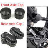 Front Axle Nut Rear Axle Covers Wheel Shaft Cap Protector Guard For 2002-2017 Harley Night Rod Special VRSCDX VRSCF VRSCAW