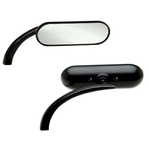 Harley Davidson Black Oval Mirrors Copy -