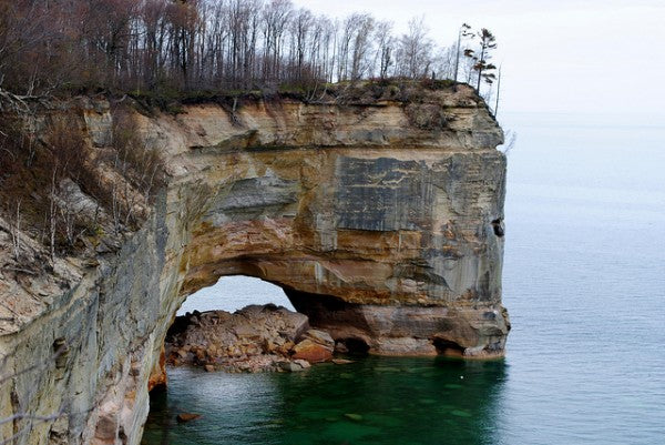 Grand Portal Point in Picture Rocks National Lakeshore