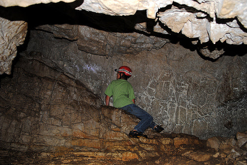 Caving In Michigan at the Hendrie River Cave