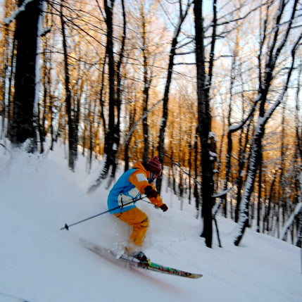Down Hill Skiing in the Upper Peninsula of Michigan