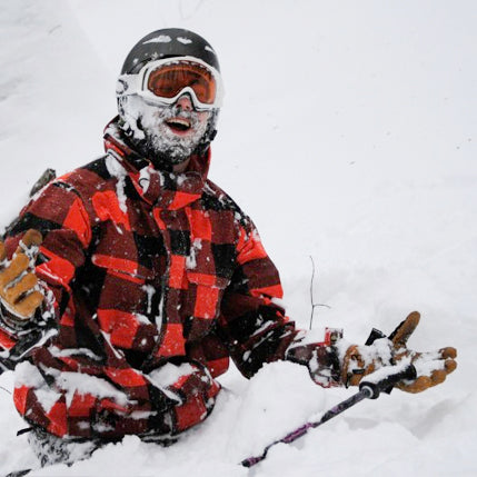 Deep snow leaves a skier stunned and happy in the U.P.