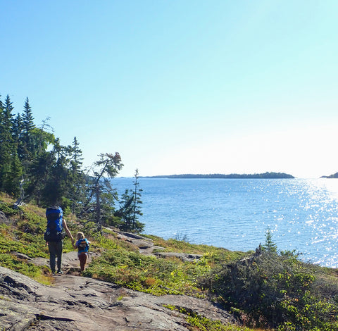 Camping and hiking in the UP