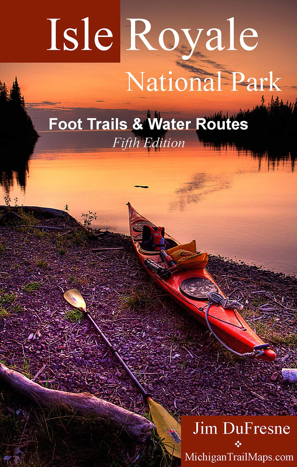 Isle Royale National Park Foot Trails & Water Routes