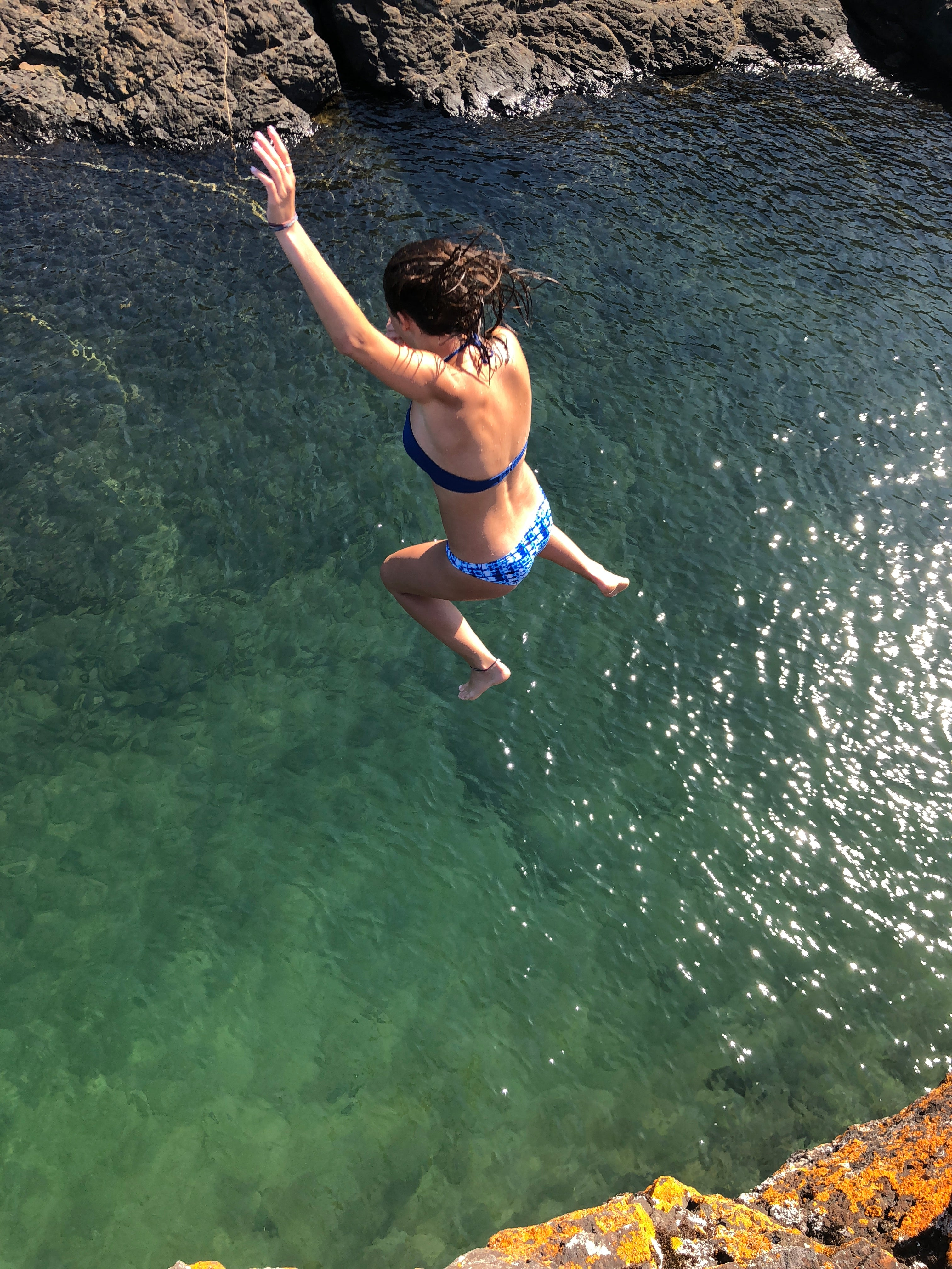 Cliff Diving in the Upper Peninsula