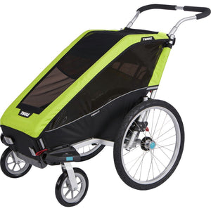 Thule Cheetah XT 1 + Cycle/Stroll Chartreuse