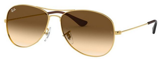 Ray Ban Cockpit Arista w/ Crystal Brown Gradient