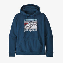 Load image into Gallery viewer, Patagonia Men's Line Logo Ridge Uprisal Hoody