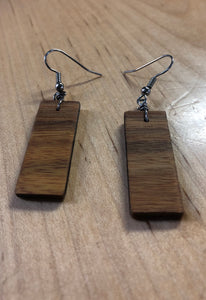 Northern Grains Dangle Earring Vertical
