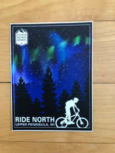 Ride North Marquette Sticker