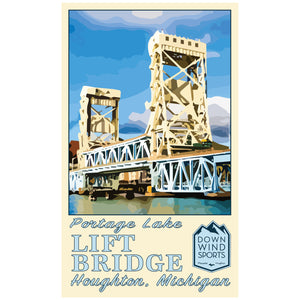 Lift Bridge Sticker