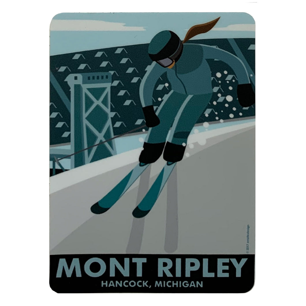 MONT RIPLEY STICKER