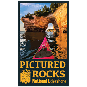 Pictured Rocks Arch Sticker