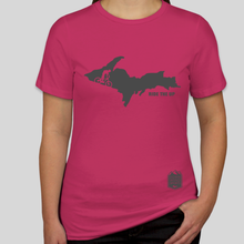 Load image into Gallery viewer, Women's Ride UP Tee