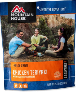 Mountain House Dried Chicken Teriyaki