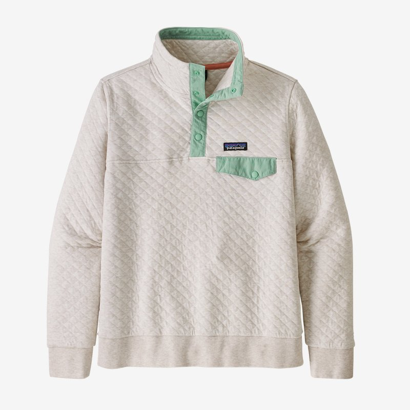 Patagonia Women's Organic Cotton Quilt Snap T