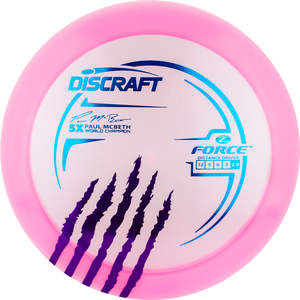Discraft 5X Z Force Paul McBeth Driver