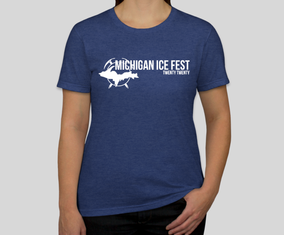 Women's 2020 Michigan Ice Fest Official Tee