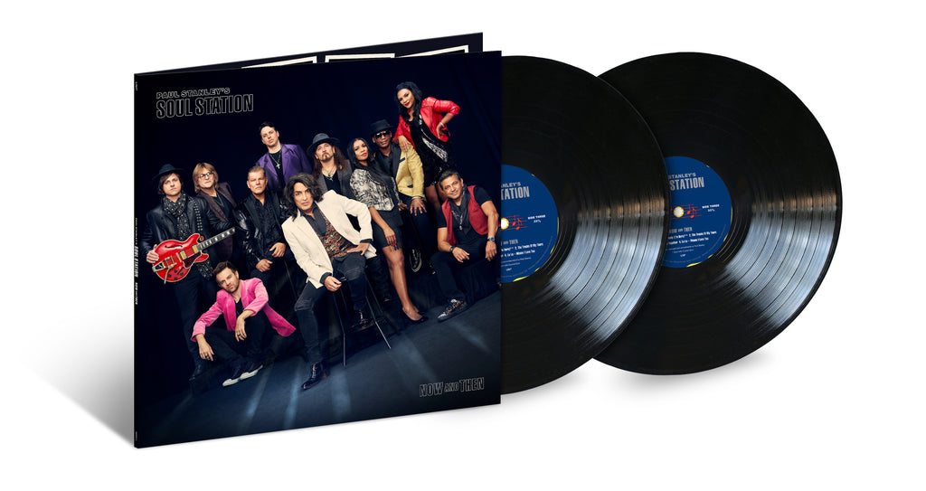Paul Stanley's Soul Station | Now And Then (2LP BLACK)