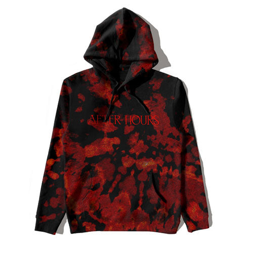 The Weeknd | AFTER HOURS BLEED DYE PULLOVER HOOD