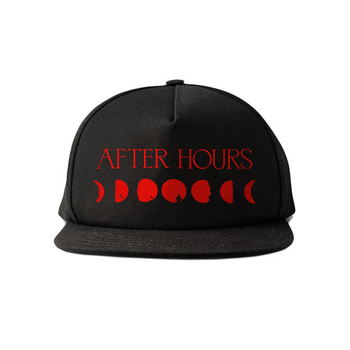 The Weeknd | AFTER HOURS MOON PHASE SOLID PANEL TRUCKER HAT