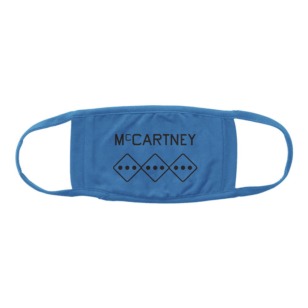 Paul McCartney | McCartney III Blue Face Mask