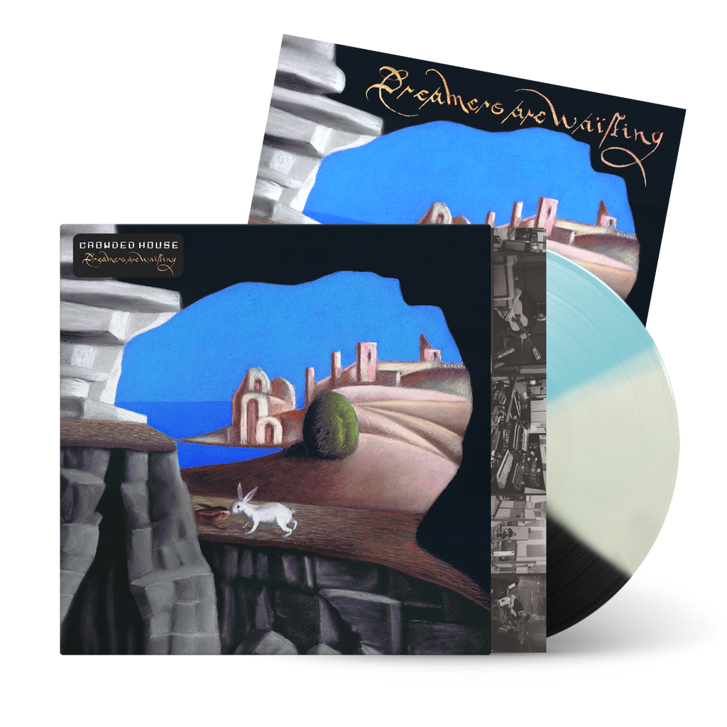 Crowded House | Dreamers Are Waiting (Exclusive Tri-Colour Transparent Vinyl with Signed Art Card)