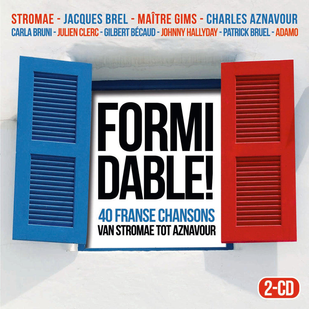 Diversen Artiesten | Formidable - 40 Franse Chansons (2CD)