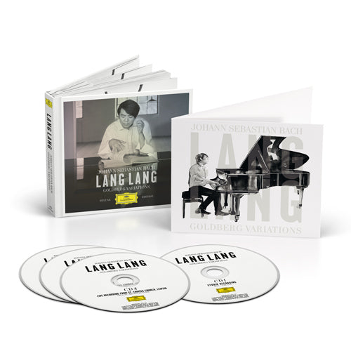 Lang Lang | Goldberg Variations 4CD + Special illustrated card (D2C Exclusive)