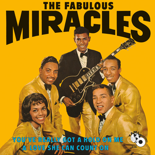The Miracles | You've Really Got A Hold On Me (aka The Fabulous Miracles) 1LP