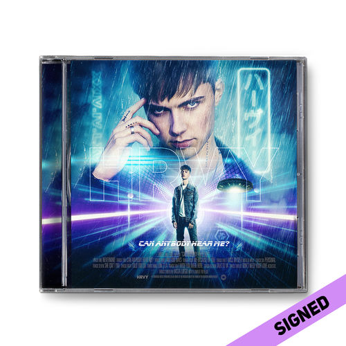 HRVY | Can Anybody Hear Me? Signed Standard CD