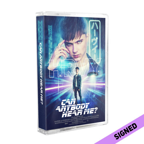 HRVY | Can Anybody Hear Me? Signed Standard Cassette (D2C Exclusive)