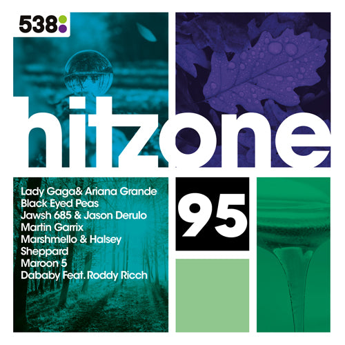 Hitzone | 95 CD  (met GRATIS set buttons)