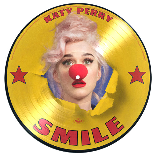 Katy Perry | Smile D2C Exclusive Picture Disc Vinyl
