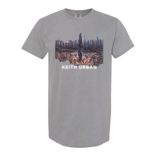Keith Urban | Skyline Grey T-shirt