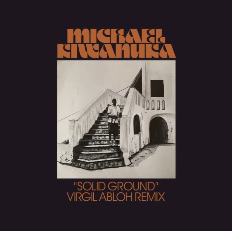 Michael Kiwanuka | Solid Ground [ Virgil Abloh Remix ] - 10Inch Gold Vinyl