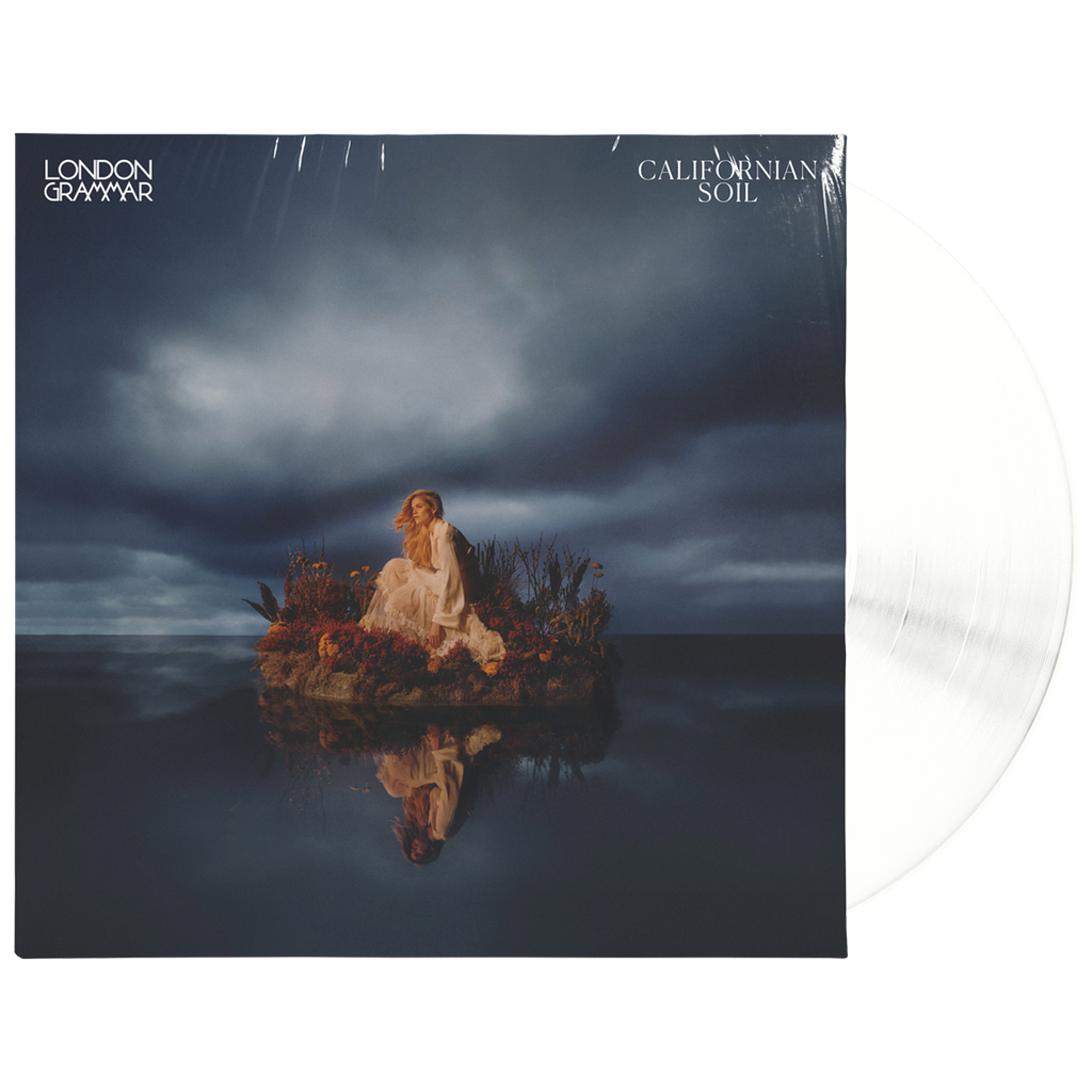 LONDON GRAMMAR | CALIFORNIAN SOIL (TRANSPARENT WHITE LP) OFFICIAL STORE EXCLUSIVE