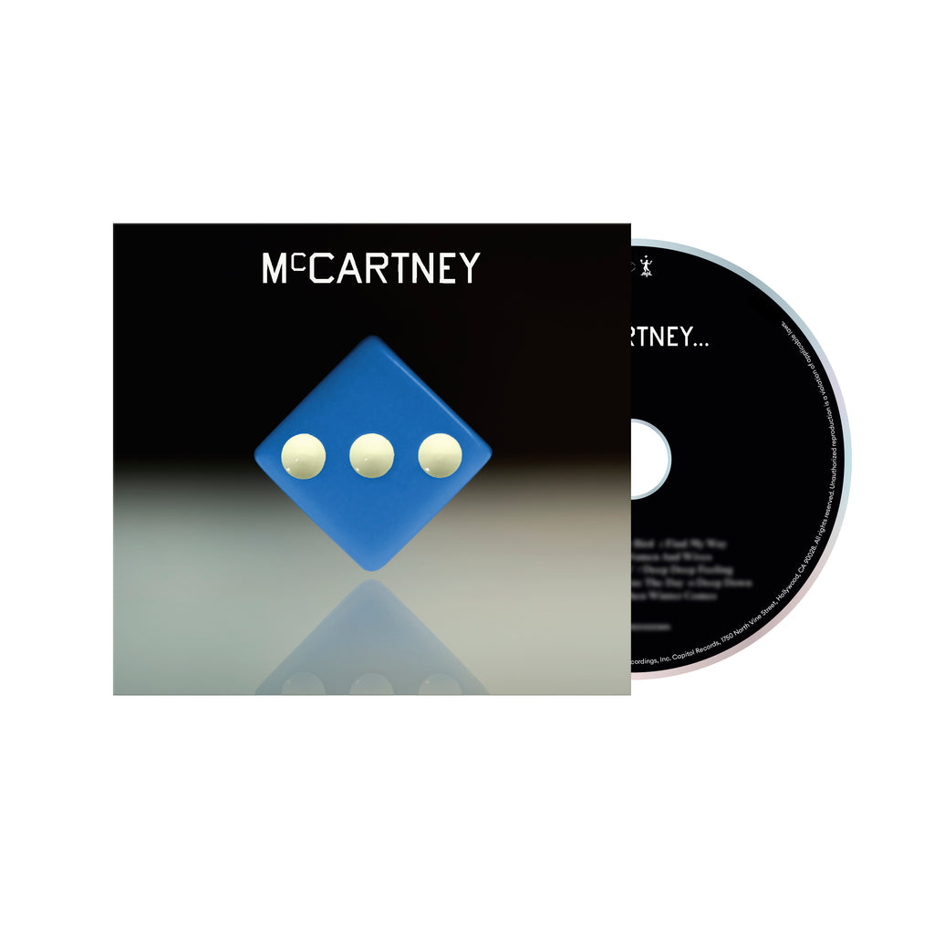 Paul McCartney | McCartney III - Deluxe Edition Blue CD